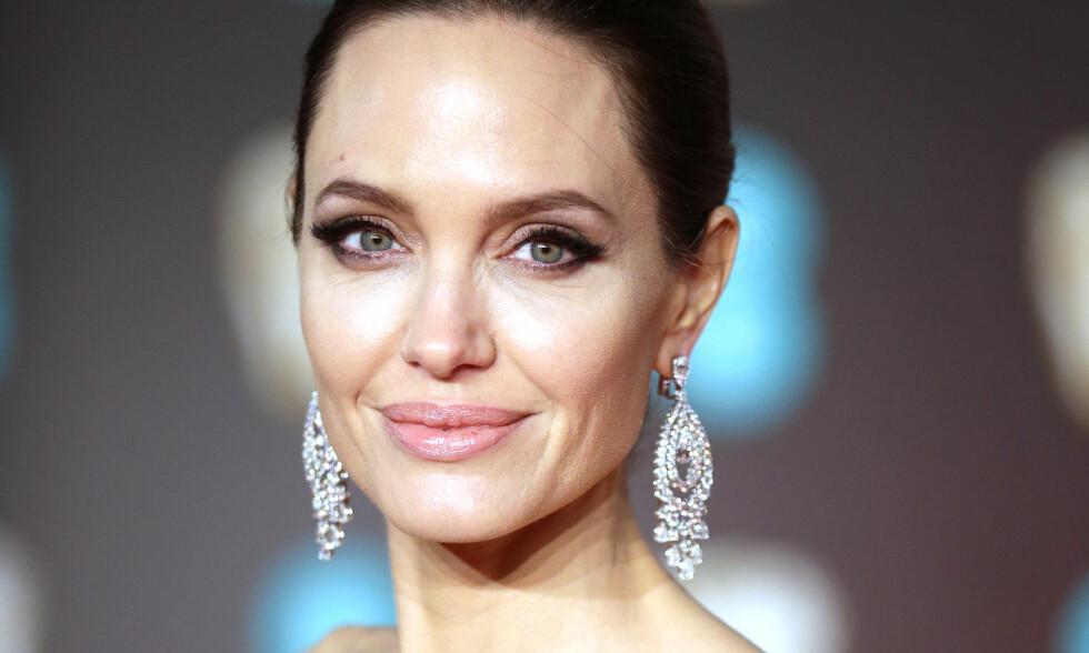 IKKE REDD FOR RYNKER: Angelina Jolie innrømmer at hun syns det er helt greit å se eldre ut. Foto: NTB Scanpix
