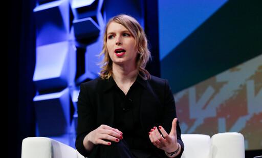 SONET SYV ÅR: Chelsea Manning holdt 13. mars foredrag under festivalen South by Southwest i Texas 13. mars. Foto: Suzanne Cordeiro REUTERS/Scanpix