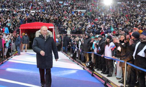 image: Russlands presidentvalg: - Putin sitter til han dør eller blir kastet