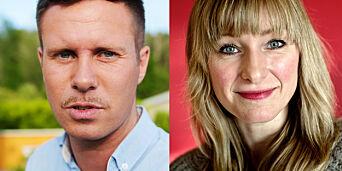 image: Vurderer å anmelde Eskil Pedersen og Inga Marte Thorkildsen. Mener seg stemplet som rasist