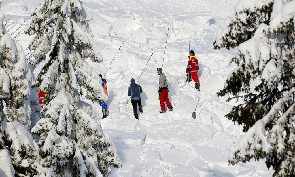 image: Antall snøskred i Norge firedoblet på ett år