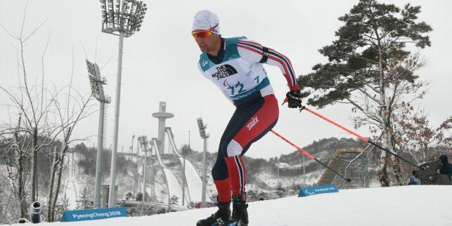 image: Langrennsgutta tok sølv i åpen stafett i Paralympics