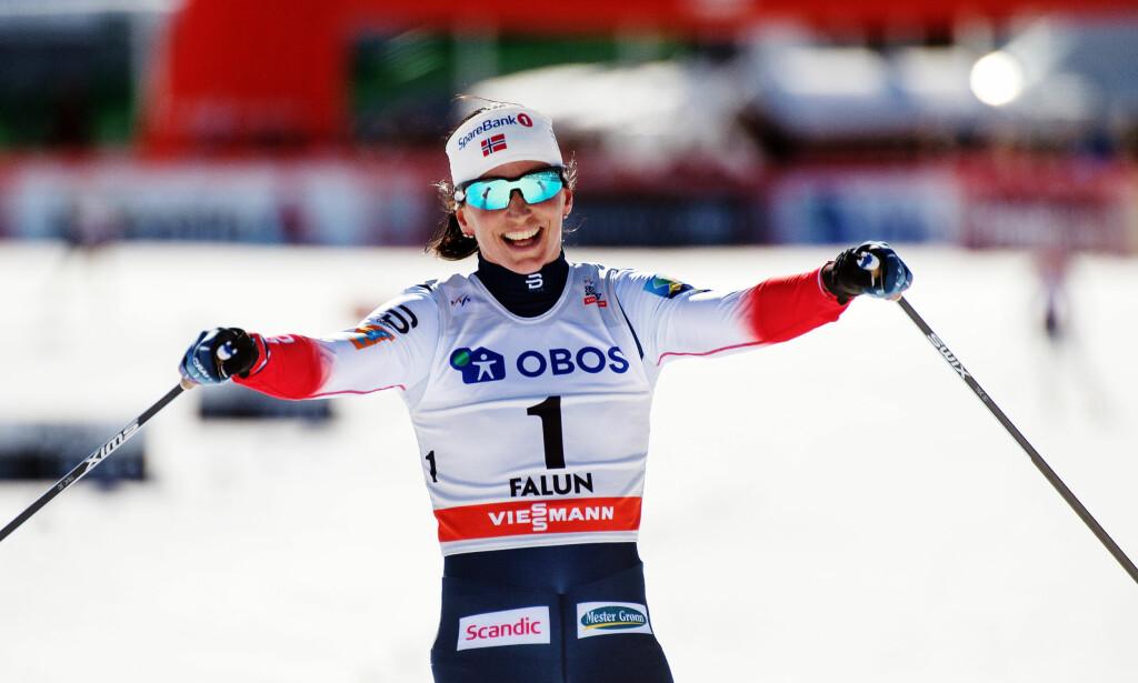 VURDERER FRAMTIDA: Marit Bjørgen savner skiturer med sønnen Marius og vet ikke om hun går på en sesong til. Foto: Bildbyrån