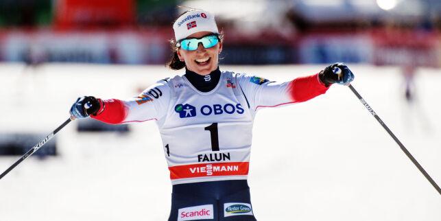 image: Bjørgen vurderer skiframtida: - Er nesten så jeg skjemmes