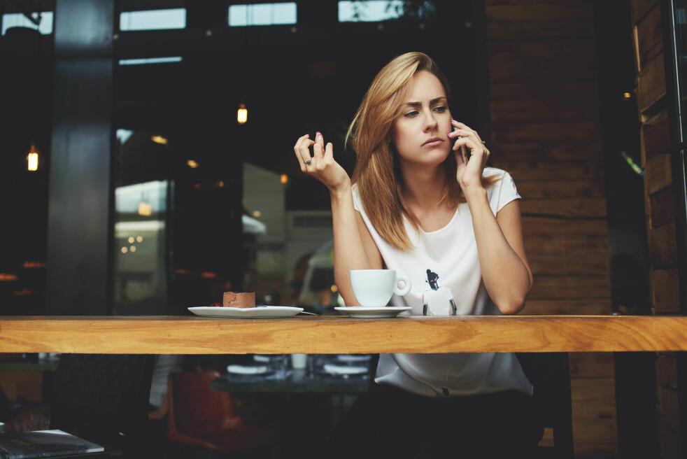 <strong>IRRITERENDE:</strong> Telefonsalg topper klagestatistikken hvert år. Mange av klagene kommer fra medlemmer som blir oppringt av samarbeidspartnere, selv om de har reservert seg mot telefonsalg. Dette er ulovlig, men ifølge Forbrukertilsynet følger ikke alle reglene. Foto: Shutterstock / NTB Scanpix