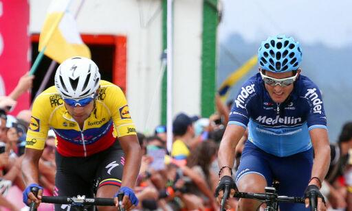 image: Toppsyklist ranet og banket opp i Colombia