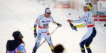 image: Jönsson forklarer den merkelige gesten. Derfor slapp han franskmannen foran seg