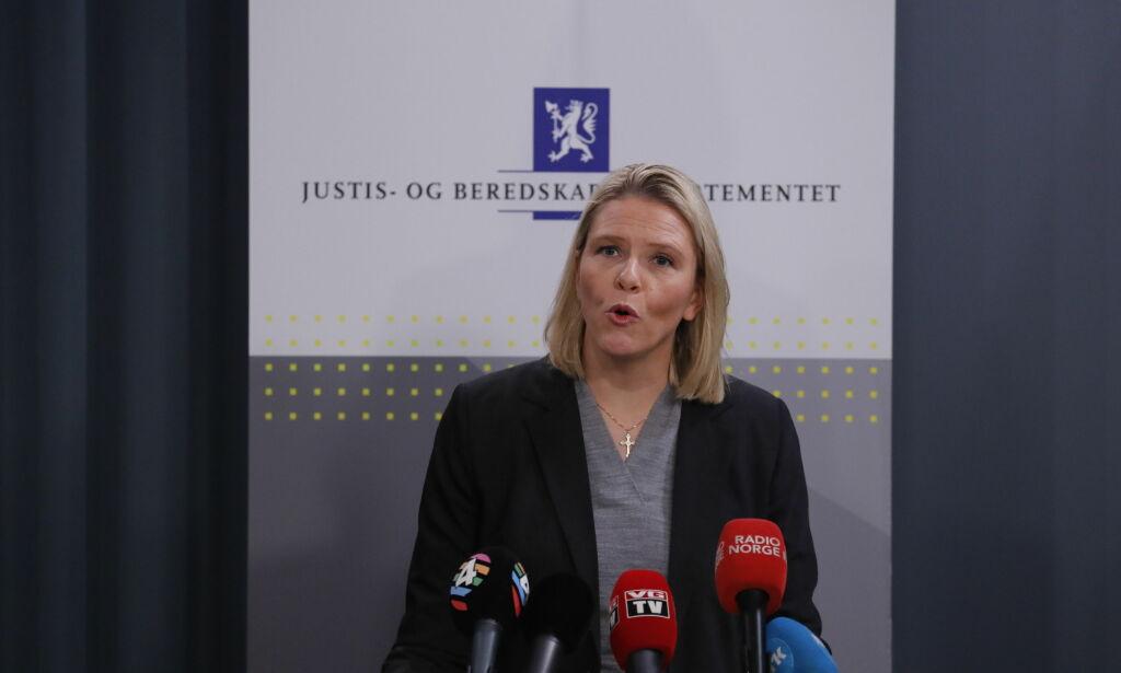 image: Sylvi Listhaug: - Jeg vil fortsette kampen på Stortinget