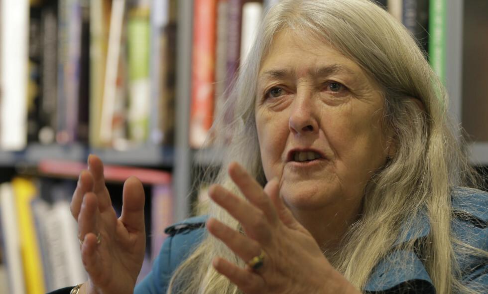 AKTUELL: Mary Beard (62) er en kjent og respektert britisk historieprofessor, feminist og mediepersonlighet som nå er aktuell i Norge med boken Kvinner &amp; Makt – Et manifest på Cappelen Damm. På BBC vises nå serien Civilisations, der hun medvirker sammen med David Olusoga og Simon Schama.<br>Foto: NTB Scanpix
