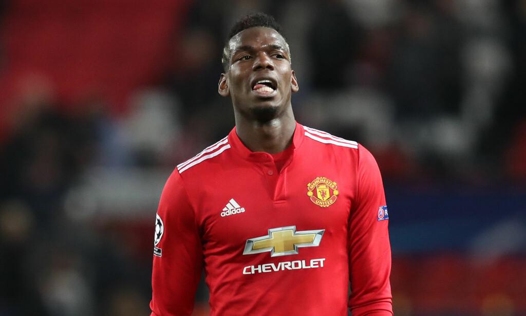 Paul Pogba og José Mourinho skal ha et anstrengt forhold. Det samme gjelder Luke Shaw som kan være på vei bort fra klubben. Foto: Pa Photos/Martin Rickett