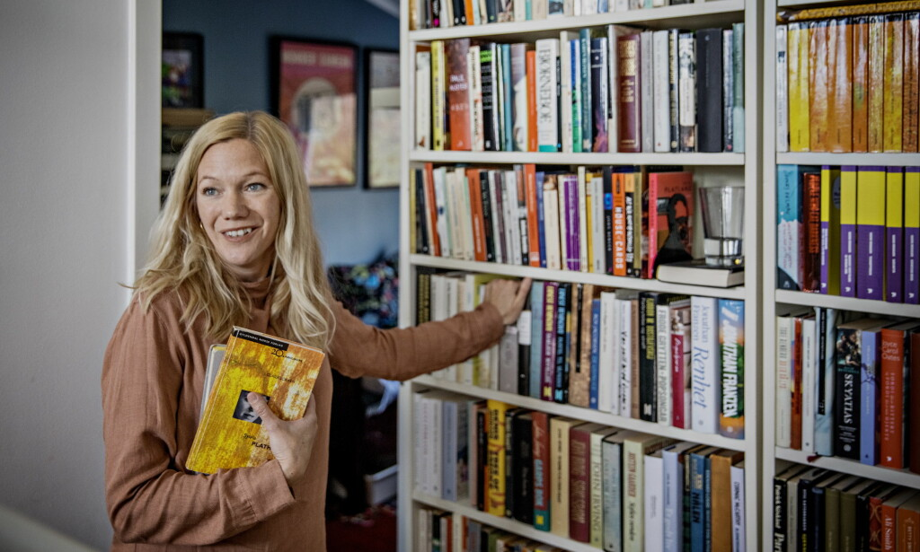 STOR I TYSKLAND: Den norske forfatteren Maja Lunde var den mest solgte forfatteren i Tyskland i fjor. Foto: Jørn H. Moen