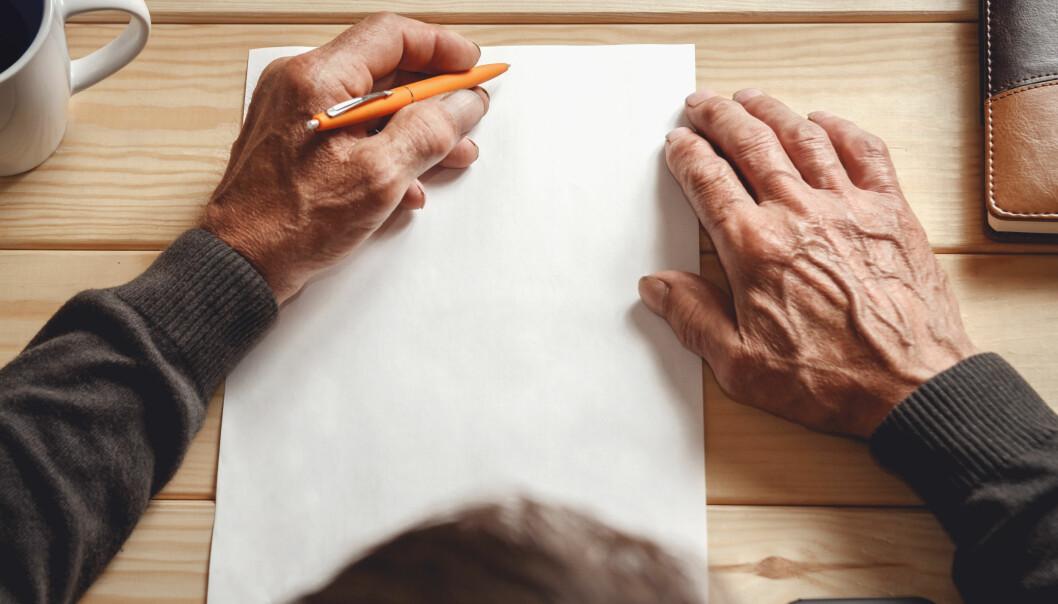 <strong>Skriv testament uten advokat:</strong> Det er en rekke formelle krav rundt testament, men du kan skrive det selv. Foto: Shutterstock