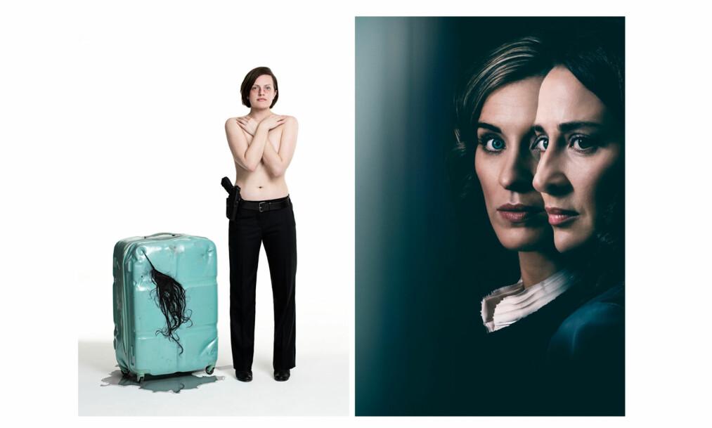 PÅSKEKRIM 2018: Blant våre krimfavoritter denne påsken er «Top of the Lake: China Girl» på TV 2 og «Vikaren» på NRK. I rollene finner vi Elisabeth Moss (venstre), Morven Christie og Vicky McClure (høyre). FOTO: TV 2 og NRK
