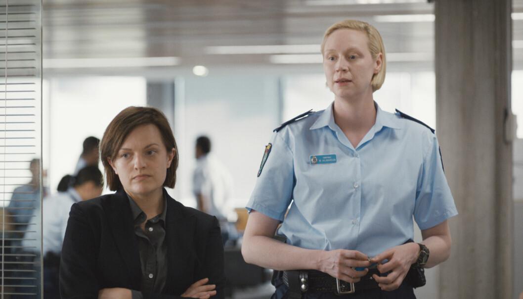 TOP OF THE LAKE: CHINA GIRL: I denne sesongen følger vi politietterforsker Robin Griffin (Elisabeth Moss) og politikonstabel Miranda Hilmarson (Gwendoline Christie) i jakten på den ukjente drapsmannen. FOTO: TV 2