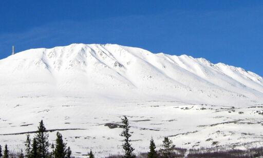 image: Skiløper tatt av snøskred - kom seg oppå raset