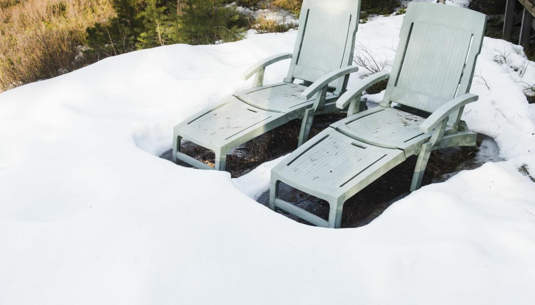 Slik får du snøen til å smelte raskere