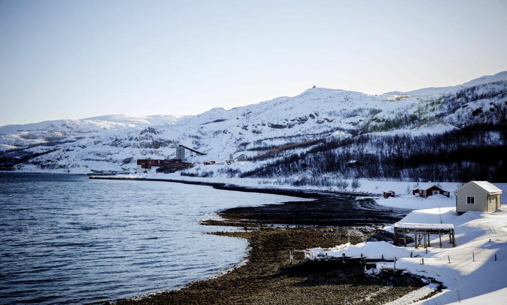 DEMONSTRERER MOT DUMPING: Nussir ASA har søkt om gruvevirksomhet i Kvalsund og deponering i Repparfjorden. En tverrpolitisk allianse demonstrerer idag utfor Stortinget mot at de verdifulle fjordene våre skal ødelegges med giftig gruveslam, skriver lederne i Noereh og Natur og Ungdom. Foto: Nina Hansen