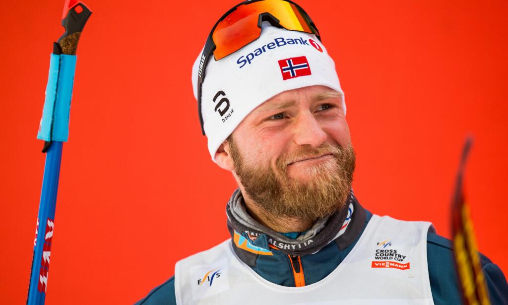 VARSLER ENDRING: Martin Johnsrud Sundby er ikke superfornøyd med årets sesong og vil tilbake til sitt gamle jeg. Foto: Jon Olav Nesvold / Bildbyrån