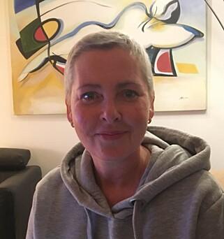 KREFTSYK: Jannicke Wilsbeck har uhelbredelig kreft. Bildet er fra før hennes siste cellegiftkur. Foto: Privat