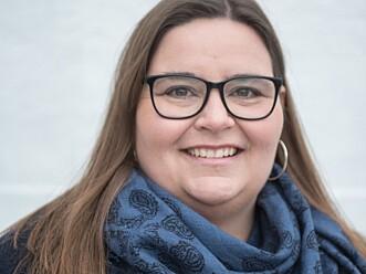<strong>EKSPERT:</strong> Astrid Valen-Utvik jobber med ulike bedrifters satsing i sosiale medier. Foto: Privat.