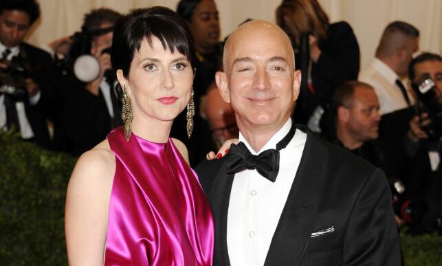 2012: At ekteparet Bezos lever en helt annen tilværelse nå, enn på 90-tallet, er ganske så tydelig. Blant annet eier de fem luksusboliger i forskjellige deler av USA. Foto: NTB Scanpix