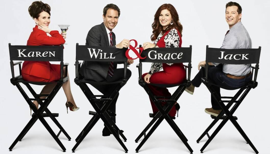«WILL & GRACE»: «Will & Grace» har hatt stor suksess etter at serien kom tilbake til skjermen. FOTO: Will & Grace