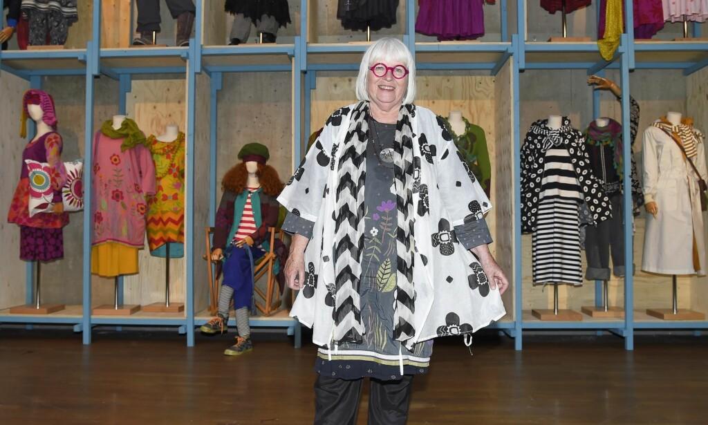 VEKKER HARME: Gudrun Sjöden har kledd opp utallige svenske og skandinaviske kvinner og er en av Sveriges mest vellykkede gründere. Nå får hun kritikk for å ha sagt at andre kvinner gjør for bekvemme valg. Foto: Scanpix
