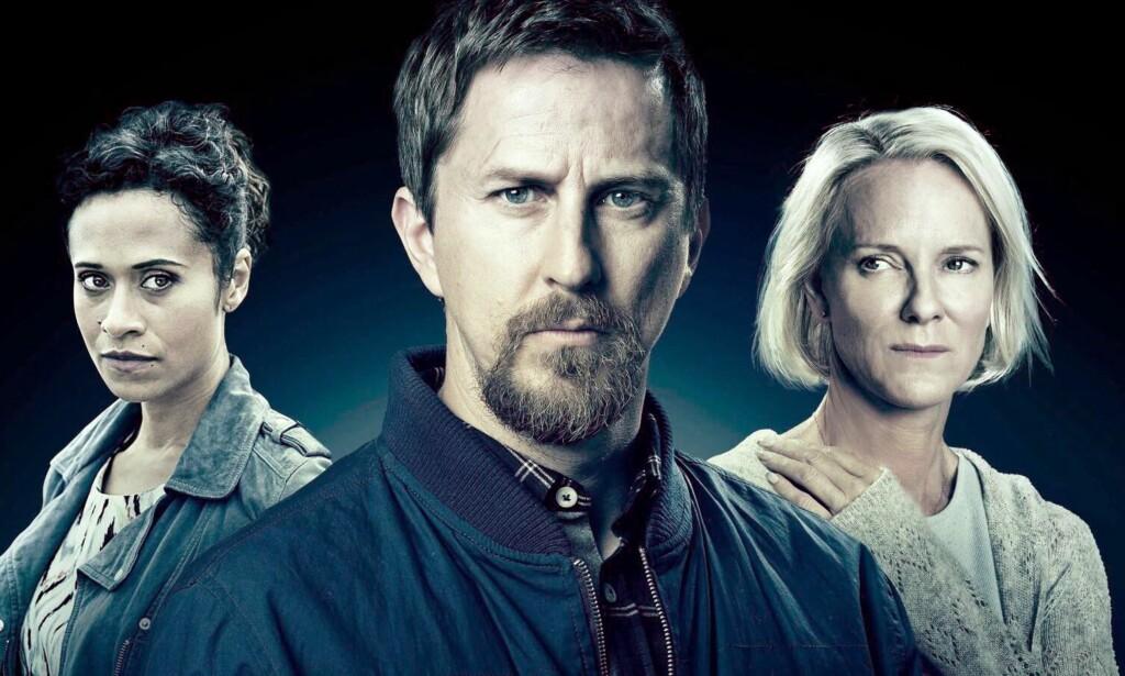 KONEDRAP: Lee Ingleby spille ektemannen David som blir dømt for drapet på sin kone i «Innocent», men som plutselig blir sluppet fri og som da søker både hevn og rettferdighet.