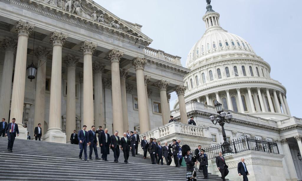 BUDSJETTENIGHET: USA unngår ny shutdown etter enighet i kongressen om en ny budsjettavtale. Foto: Evan Vucci / AP / NTB scanpix.