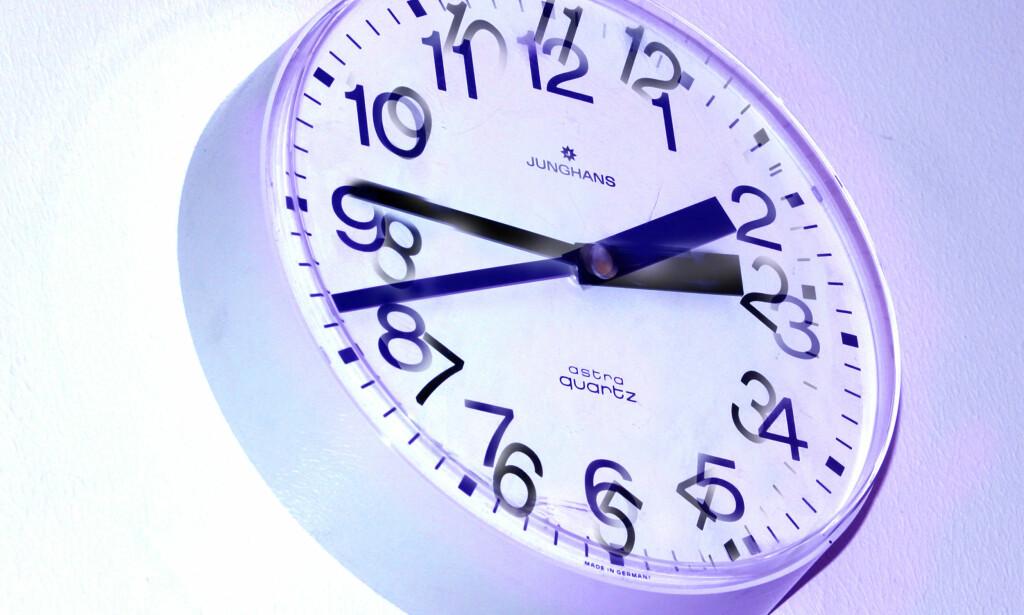 SOMMERTID: Klokka skal stilles én time frem på søndag. Foto: NTB Scanpix.
