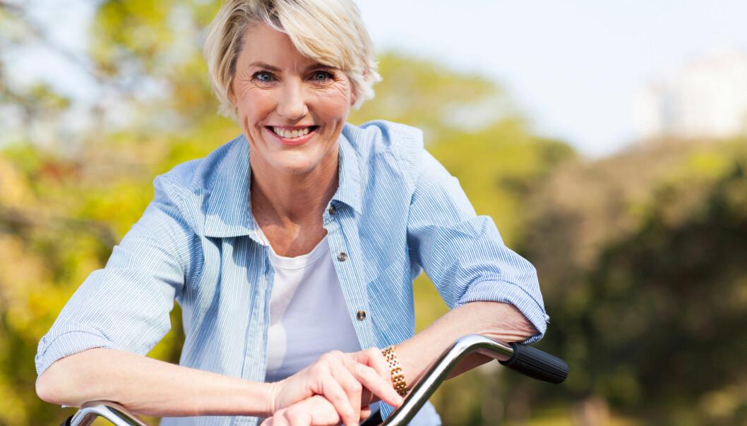 OVERGANGSALDER: For mange er det befriende å komme i overgangsalderen. Mange får heller ingen symptomer. FOTO: NTB Scanpix