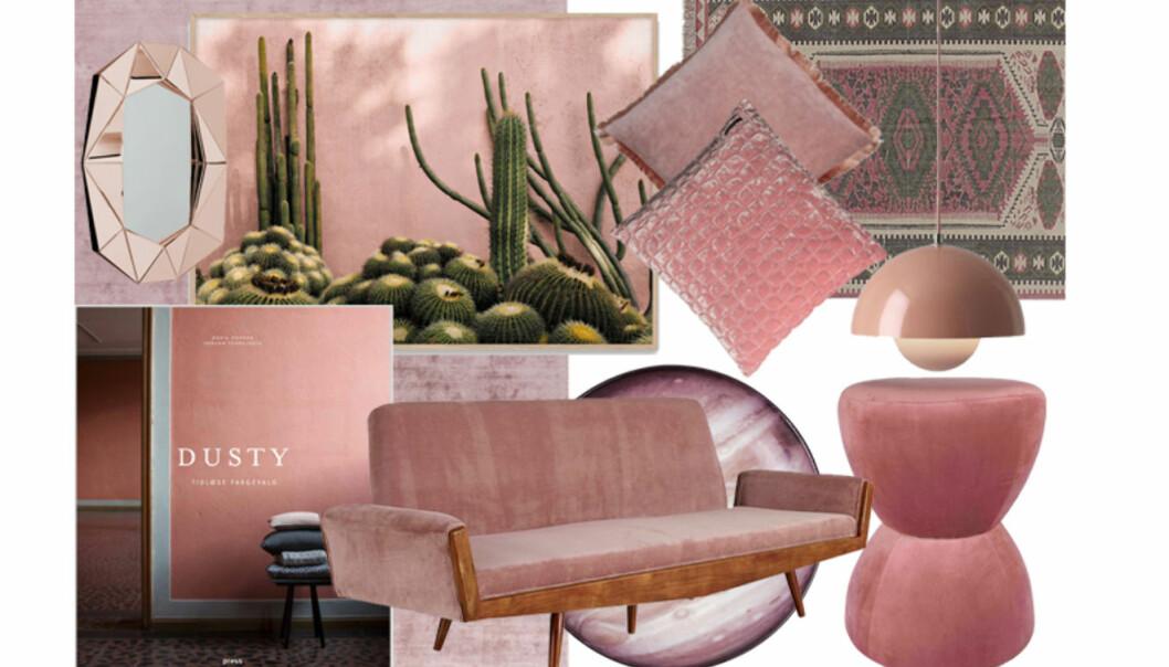 Ja, du tør! Frisk opp hjemmet med rosa interiør