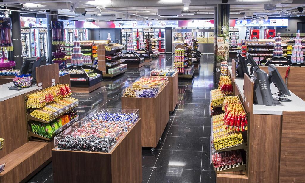 STOR KAPASITET: Kiosken skal kunne ta unna flere hundre gjester samtidig   Foto: Hans Arne Vedlog / Dagbladet