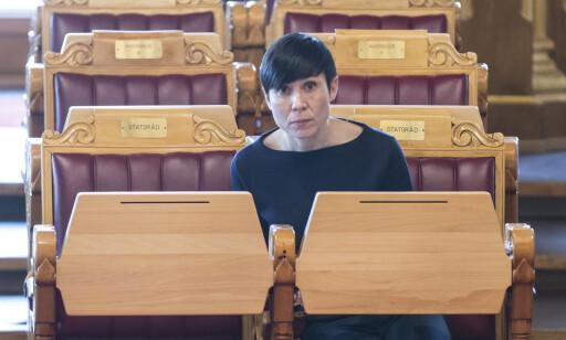 I UVISSHET: Utenriksminister Ine Eriksen Søreide og Norge. Foto: Vidar Ruud / NTB scanpix