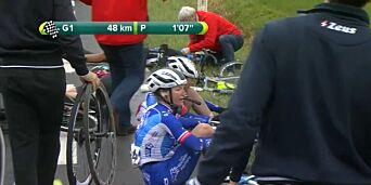 image: Norsk syklist i skrekkvelt: – Ikke et bra syn som møtte oss