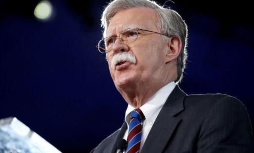 NY MANN: USAs tidligere ambassadør til FN, John Bolton, er Donald Trumps nye nasjonale sikkerhetsrådgiver. Foto: REUTERS/Joshua Roberts/NTB Scanpix