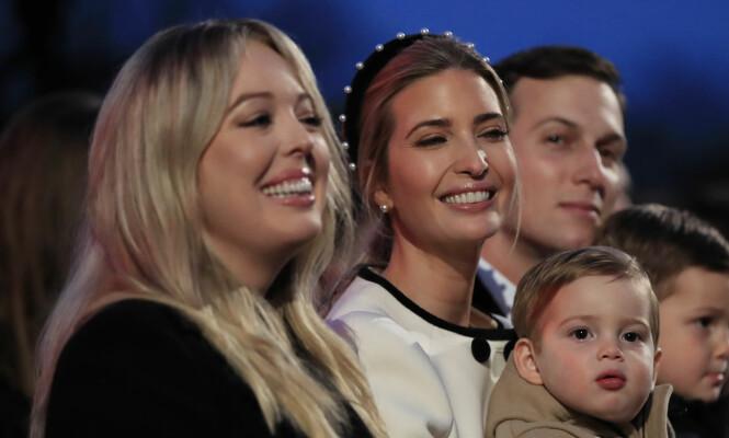 SØSTRE: Tiffany går samme vei som storesøster Ivanka når det gjelder studiene. Foto: NTB Scanpix