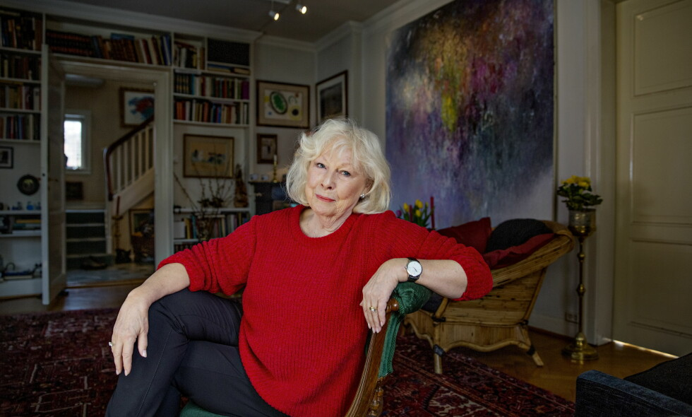 Ingen pensjonist: Lise Fjeldstad har ikke tenkt å gi seg med det første. Hun skulle gjerne sett at det var flere filmroller til modne kvinner. Foto: Jørn H Moen