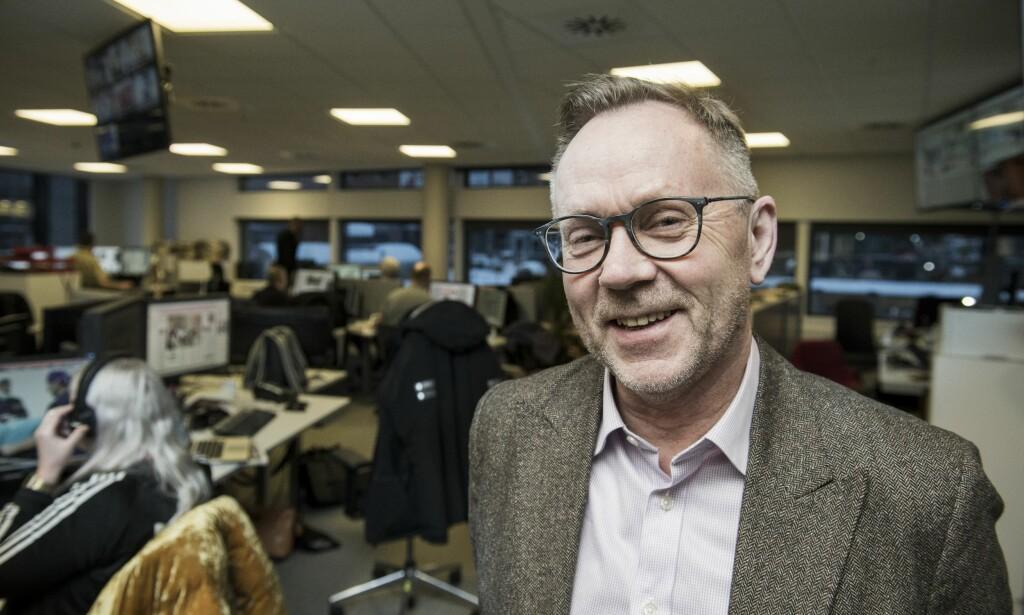 SLUTTER: John Arne Markussen er inne i sitt siste år som sjefredaktør i Dagbladet. Foto: Lars Eivind Bones / Dagbladet