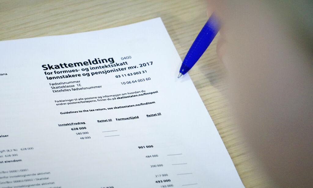 image: Dette må du ha klart for å sjekke skattemeldingen