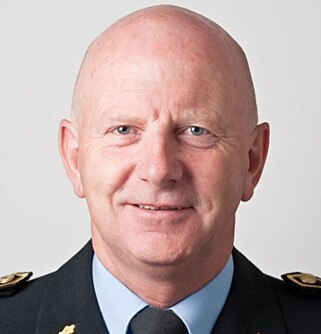- BØR IKKE VÆRE POLITIOPPGAVE: Politistasjonssjef Brian Jacobsen i Sandefjord. Foto: Politiet.