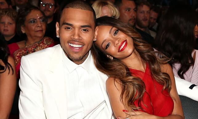 EKSKJÆRESTER: Chris Brown ble ilagt fem års prøvetid og besøksforbud da han i 2009 erklærte seg skyldig i overfall mot sin daværende kjæreste Rihanna. Foto: NTB scanpix