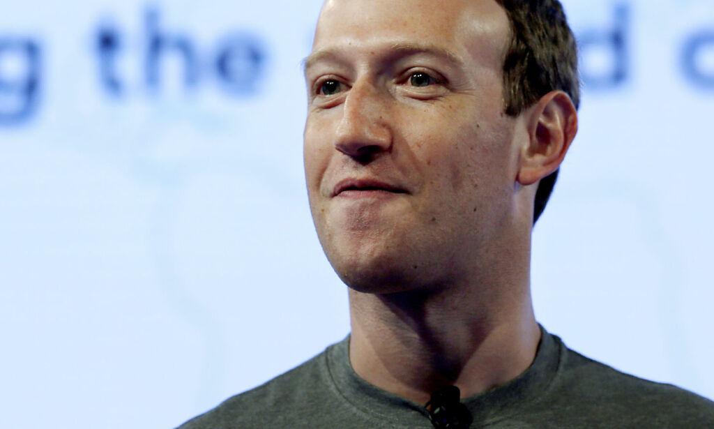 image: Zuckerberg legger seg flat etter skandale