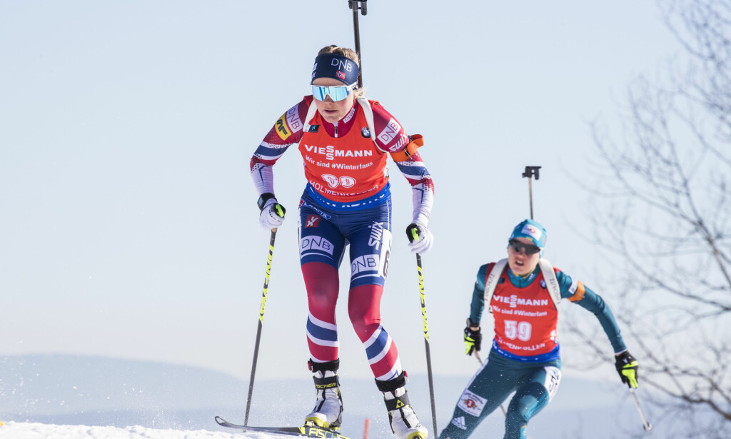 LEGGER OPP: Hilde Fenne går ikke løs på en ny skiskyttersesong. Foto: Håkon Mosvold Larsen / NTB scanpix