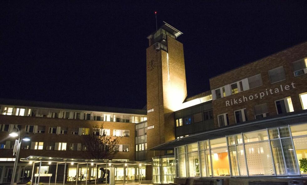 ENESTE OFFENTLIGE: Nasjonal behandlingstjeneste for transseksualisme ved Rikshospitalet en det eneste offentlige behandlingsstedet for kjønnsbekreftende behandling i Norge. <cutline_name>Foto: Mariam Butt / NTB scanpix </cutline_name>