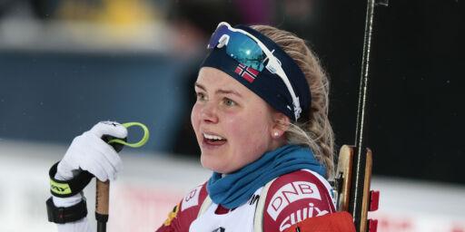image: Hilde Fenne vant NM-gull på normaldistansen