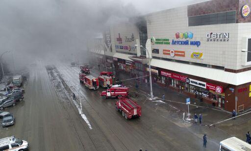 image: - Sikkerhetsvakt slo av brannalarmene på russisk kjøpesenter
