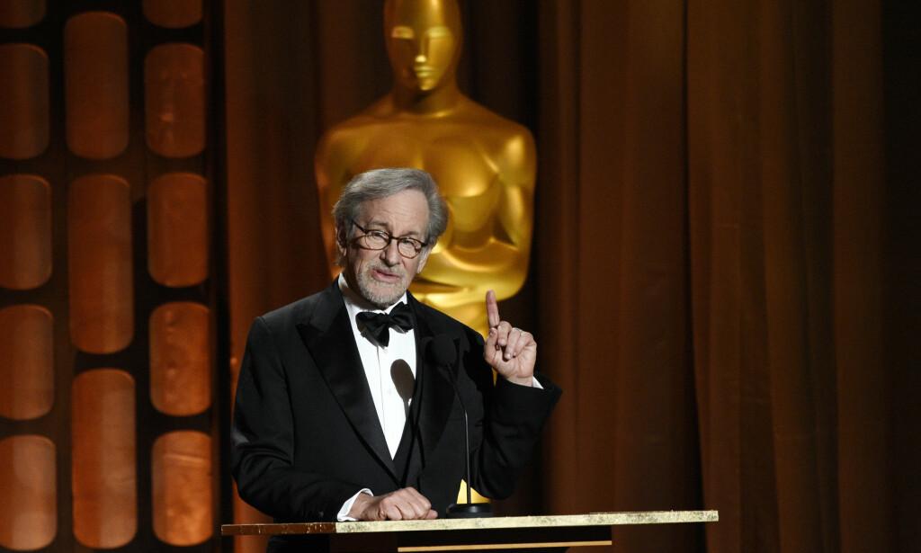 DEBATT: Filmregissør Steven Spielberg kommenterer tv-bransjens inntog i filmverdenen. Foto: NTB Scanpix