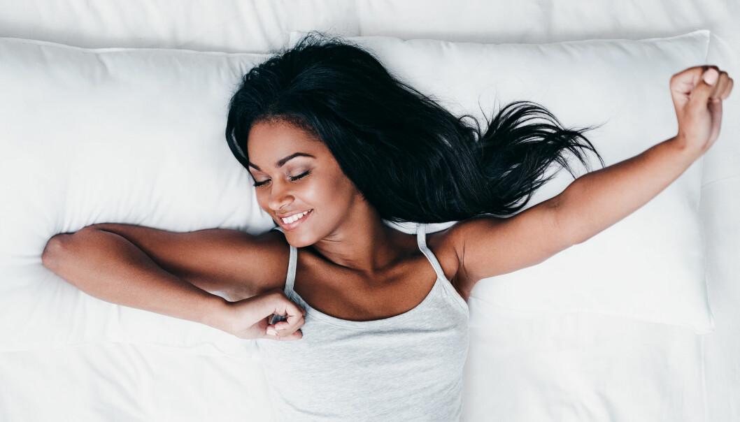 SØVN: Kvinner trenger visstnok mer søvn enn menn. Totalt får likevel 1 av 7 for lite søvn. Foto: NTB scanpix