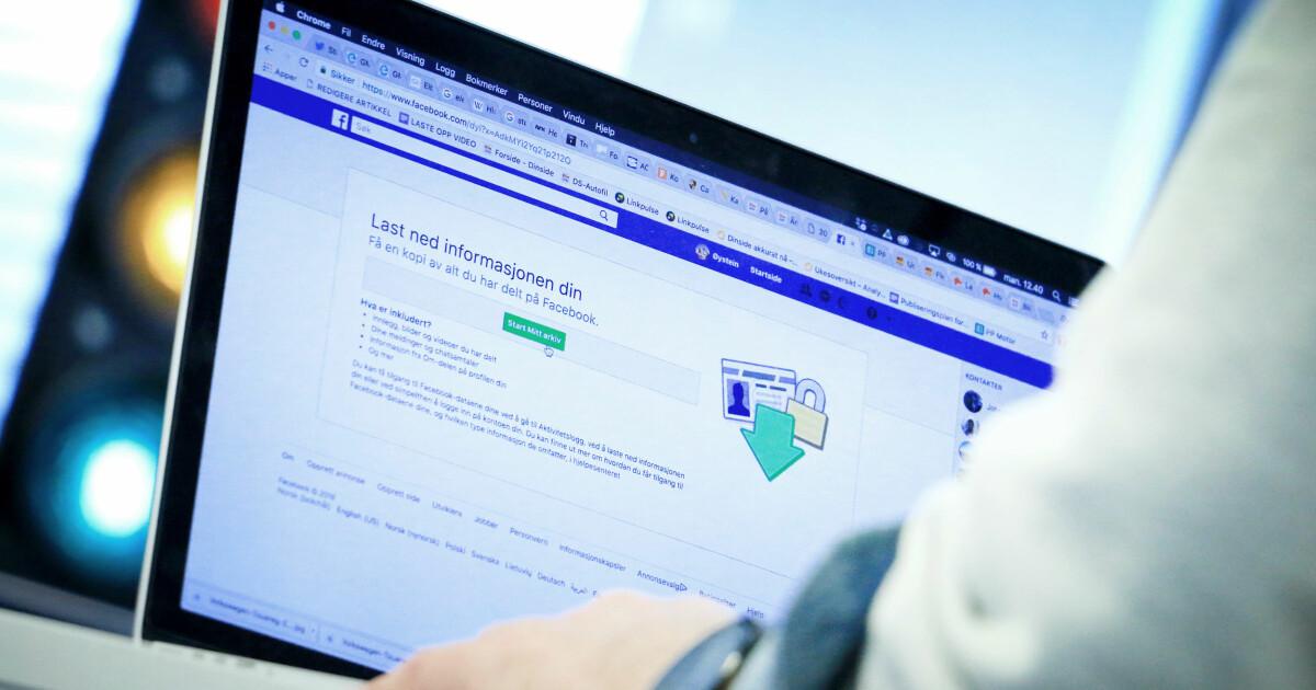 c3882f0b Last ned Facebook-profilen og se hva Facebook vet om deg - Datatilsynet: -  Kan nok være en øyeåpner - DinSide